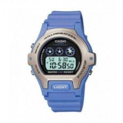 Casio correa original color lila para el reloj LW-202-6A
