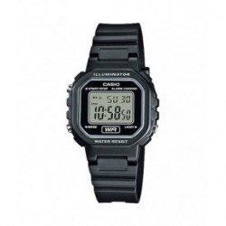 Casio correa original color negro para el reloj LA-20WH-1A, LA-20WH-1B, LA-20WH-4A, LA-20WH-9A
