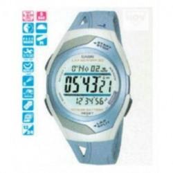 Casio correa original color azul claro para el reloj STR-300-2CV