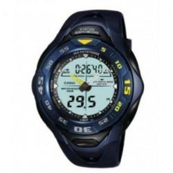 Casio correa original color azul oscuro para el reloj SPF-60-2A1