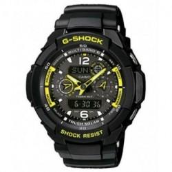 Casio G-SHOCK Correa original para reloj GW-3500B-1A2, G-1200B-1A, G-1250B-1A, GW-3000B-1A, G-1000-1A, G-1010-1A, G-1500-1A