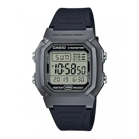 d2a906735849 Reloj pulsera digital color negro y gris CASIO para hombre W-800HM-7A