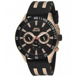 Reloj deportivo para hombre Slazenger multifuncion con correa de caucho SL.09.6076.2.03