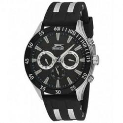 Reloj deportivo para hombre Slazenger multifuncion con correa de caucho SL.09.6076.2.01