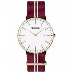 Reloj retro de moda para hombre y mujer unisex con correa de nylon Slazenger SL.09.1980.1.13