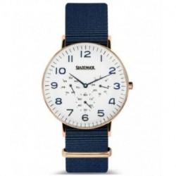 Reloj retro de moda para hombre y mujer unisex con correa de nylon Slazenger SL.09.1982.2.01