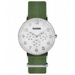 Reloj retro de moda para hombre y mujer unisex con correa de nylon Slazenger SL.09.1982.2.02