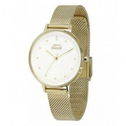 Reloj con brazalete de malla color dorado para señora Slazenger SL.09.6063.3.03