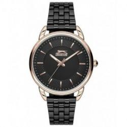 Reloj de moda con brazalete de color negro para señora Slazenger SL.09.6115.3.03