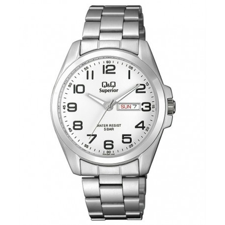 Reloj Sumergible para Caballero con numeros de Q&Q by Citizen S280J204Y