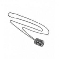Collar de Acero para Hombre Placa Calaveras SKULL RIDER