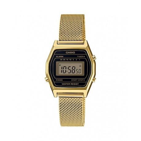 CASIO Reloj retro vintage para mujer dorado con brazalete de malla  LA-690WEMY-1D c25a5df0a9b3