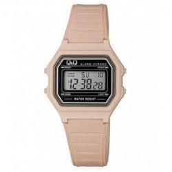 Vintage Reloj retro unisex color rosa palo de Q&Q fabricado por Citizen M173J018Y