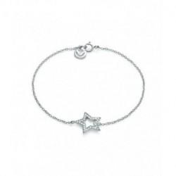 Pulsera Plata Estrella Circonitas Viceroy