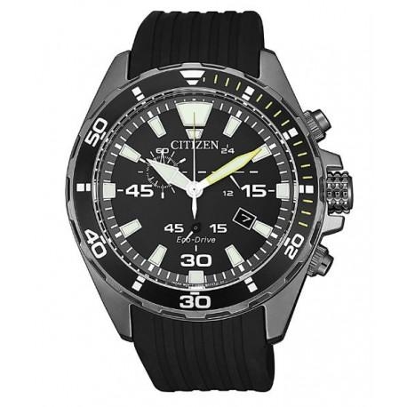 Reloj deportivo hombre   Citizen Eco drive   Sumergible 10 bar  