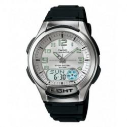 Correa original color negro para el reloj Casio AQ-180W-1B, W-213-1A