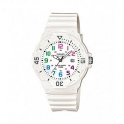 Casio correa original color blanco para el reloj LRW-200H-1E, LRW-200H-2E2, LRW-200H-4E2, LRW-200H-7B, LRW-200H-7E2