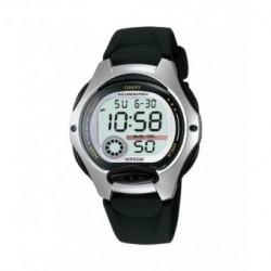 Correa original color negro para el reloj Casio LW-200-1A, LW-200-1B
