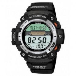 Correa original color negro para el reloj Casio SGW-300-1V, SGW-400H-1B