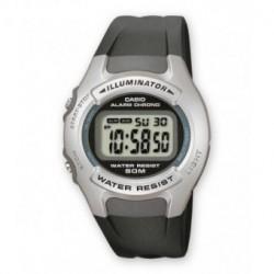 Correa original color negro para el reloj Casio W-42H-1A, W-43H-1A