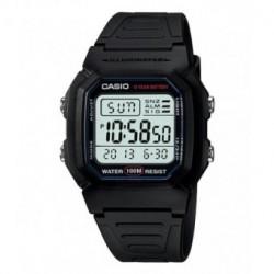 Correa original color negro para el reloj Casio W-800H-1A, W-800HG-9A