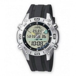 Correa original color negro para el reloj Casio AMW-702-7A