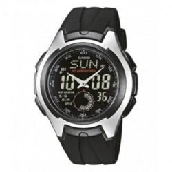 Correa original color negro para el reloj Casio AQ-160W-1B, AQ-163W-1B