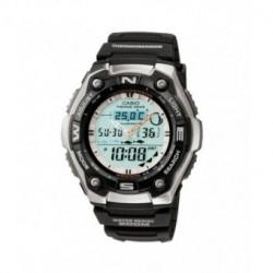 Correa original color negro para el reloj Casio AQW-101-1A