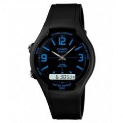 Correa original para reloj Casio AW-90-2B, 7B, 7E, 9E