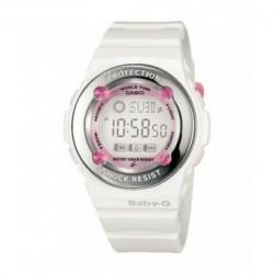 Correa original color blanca para reloj Casio Baby-G BG-1301-7B