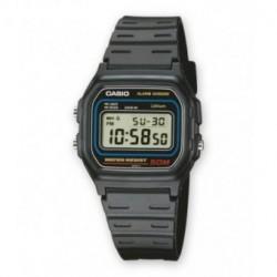 Correa original color negro para el reloj Casio W-59-1V, F-91W-1V