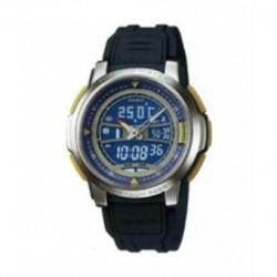 Correa original color azul oscuro para el reloj Casio AQF-101-2B
