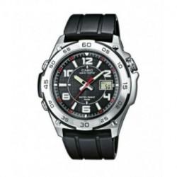 Correa original para reloj Casio ECWM300-1A, EQW-510Y-1A, EQW-M710-1A, WVQ-143E-1A, WVQ-550A-1A