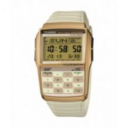 Correa original color beig para reloj Casio DBC-32C-8B
