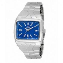 Reloj Cuadrado caballero esfera Azul Viceroy sumergible 40235-38