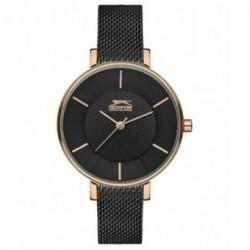 Reloj de moda color negro y oro rosa para mujer SLAZENGER SL.09.6147.3.02