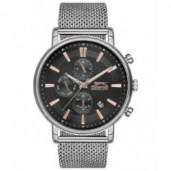 Reloj con correa de malla para hombre SLAZENGER SL.09.6183.2.02
