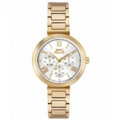 Reloj de moda multifuncion para mujer Slazenger SL.09.6232.4.03