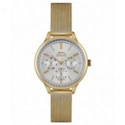 Reloj de moda con dia y fecha para mujer Slazenger SL.09.6233.4.02