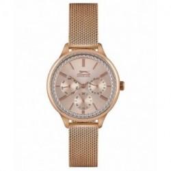 Reloj de moda con dia y fecha para mujer Slazenger SL.09.6233.4.03