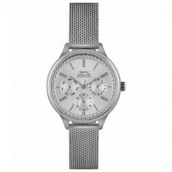 Reloj de moda con dia y fecha para mujer Slazenger SL.09.6233.4.04