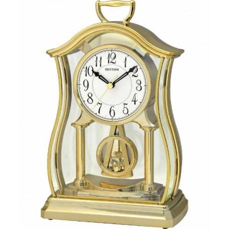 Reloj Decoracion dorado Sobremesa RHYTHM CRP611WR18