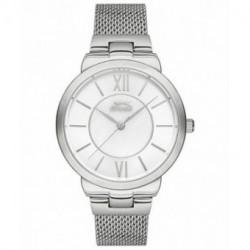 Reloj de moda color plata para mujer SLAZENGER SL.09.6171.3.03