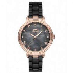 Reloj elegante color negro para mujer SLAZENGER SL.09.6186.3.02