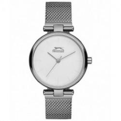Reloj de moda color plata para mujer Slazenger SL.09.6180.3.01