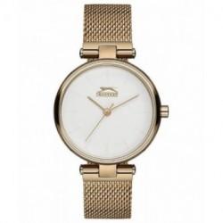 Reloj de moda color dorado para mujer Slazenger SL.09.6180.3.02
