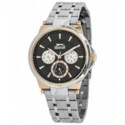 Reloj multifuncion bicolor para mujer Slazenger SL.09.6067.4.01