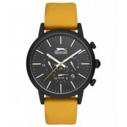 Reloj deportivo con correa amarilla para hombre Slazenger SL.09.6167.2.05