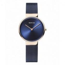 Bering reloj mujer azul 14531-367