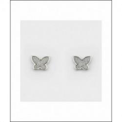 Pendientes Plata Mariposa Circonitas LARRÉ PLATA